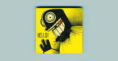HELLO-PROJECT-PostIt-Monster-1
